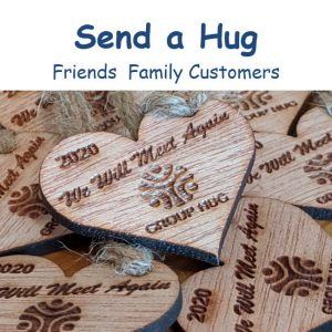 Group Hug App - Send a Hug
