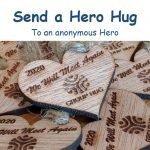 Group Hug App - Send a Hero Hug