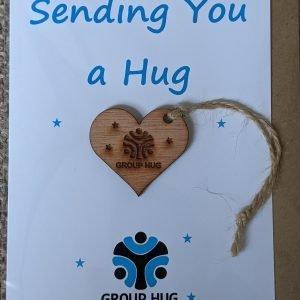 Group Hug App - Send a Hug Cards
