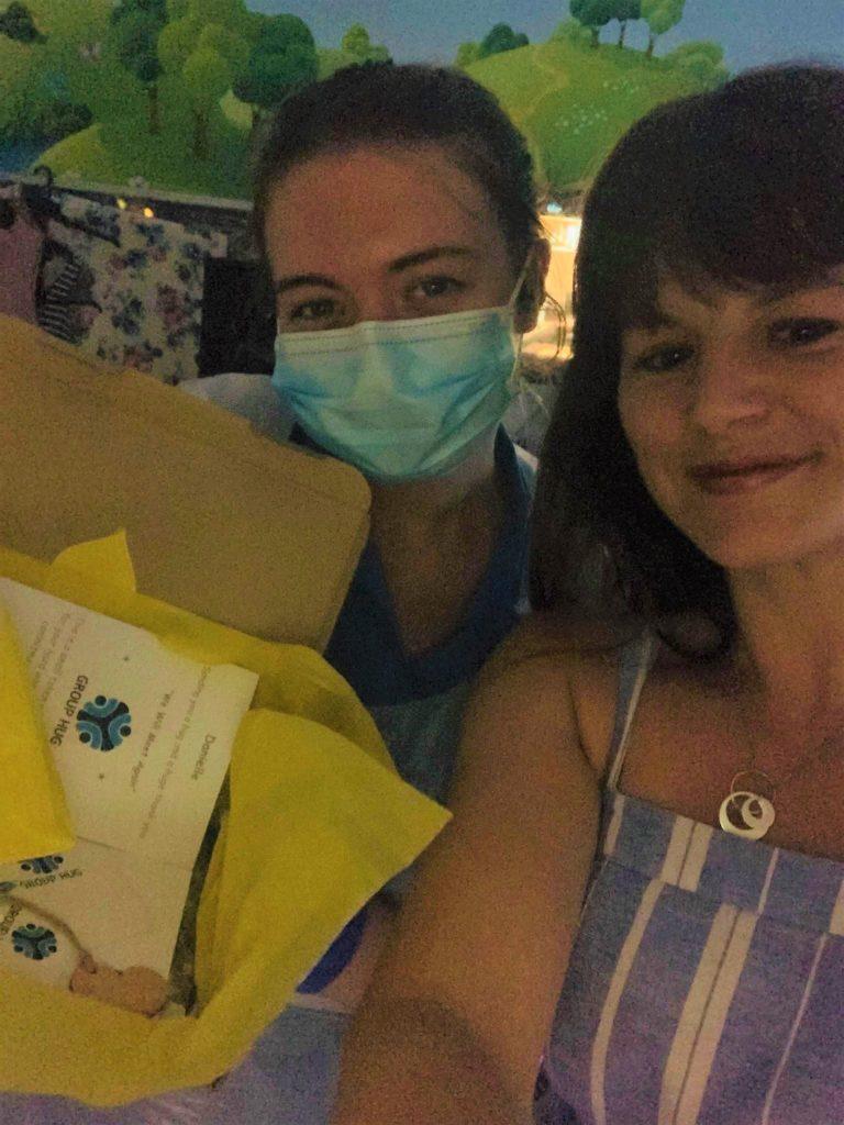 Tanya and nurse Danielle