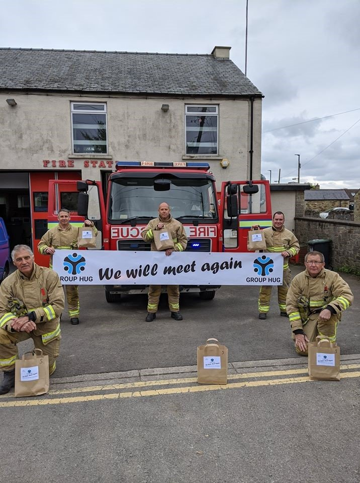 Key Workers Leyburn Fire Crew We Will Meet Again